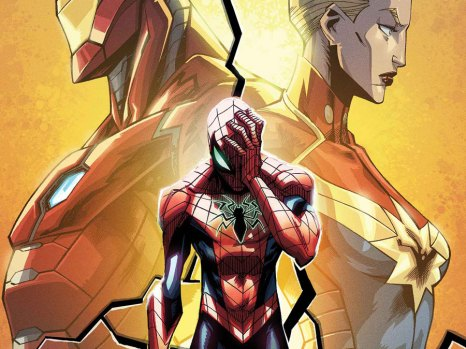 Civil War II: Amazing Spider-Man #1 from Marvel Comics