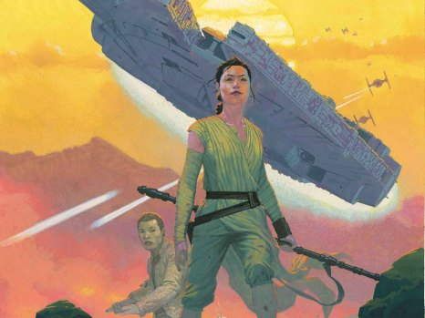 Star Wars: the Force Awakens Adaptation #1 from Marvel Comics