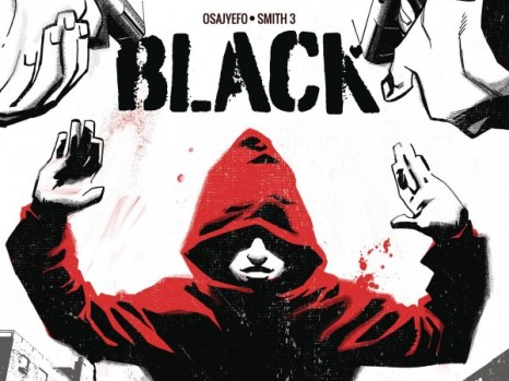 Black #1 from Black Mask Comics