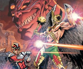 Hawkman and Adam Strange: Out of Time #1 from DC Comics