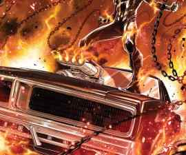 Ghost Rider #1 (2016) from Marvel Comics
