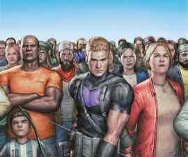 Occupy Avengers #1 from Marvel Comics