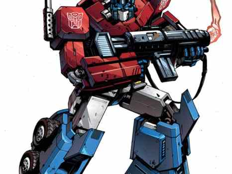 Optimus Prime #1 from IDW Comics