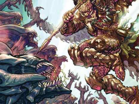 Alien vs. Predator: Life and Death #1 from Dark Horse Comics