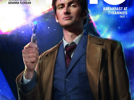 Doctor Who Tenth Doctor Year Three #1 from Titan Comics