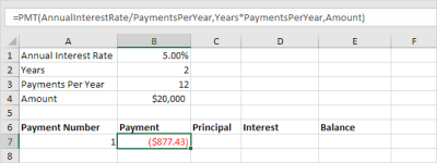 Loan Amortization Schedule in Excel - Easy Excel Tutorial