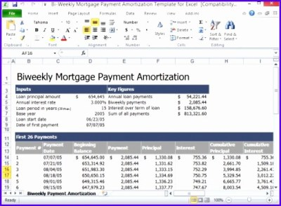 12 Loan Payment Schedule Excel Template - ExcelTemplates - ExcelTemplates