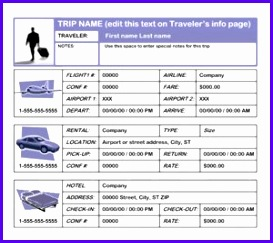 business travel plan template images cards ideas business travel