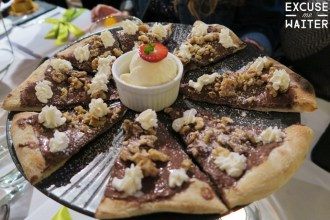 King St Wharf Nutella Pizza