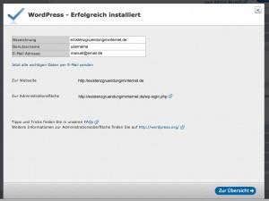 Wordpress-erfolgreich