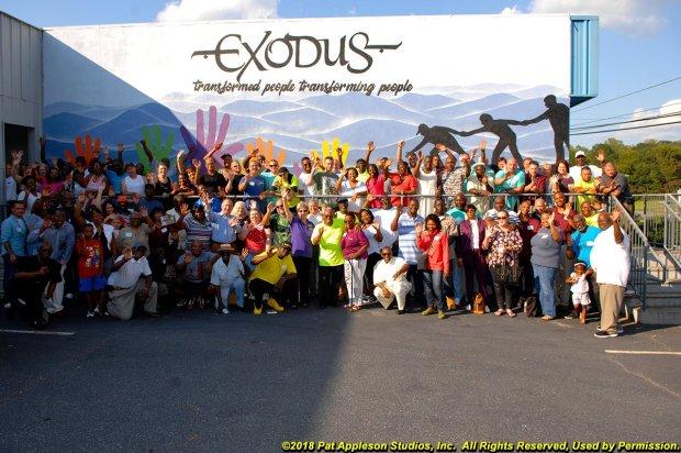 Exodus Homes Alumni Picture 2018