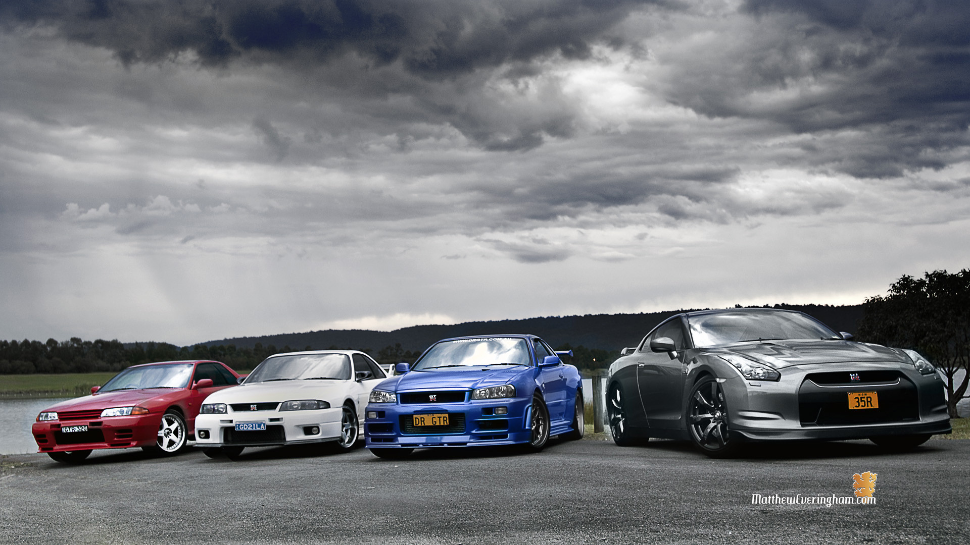 gt-r lineage