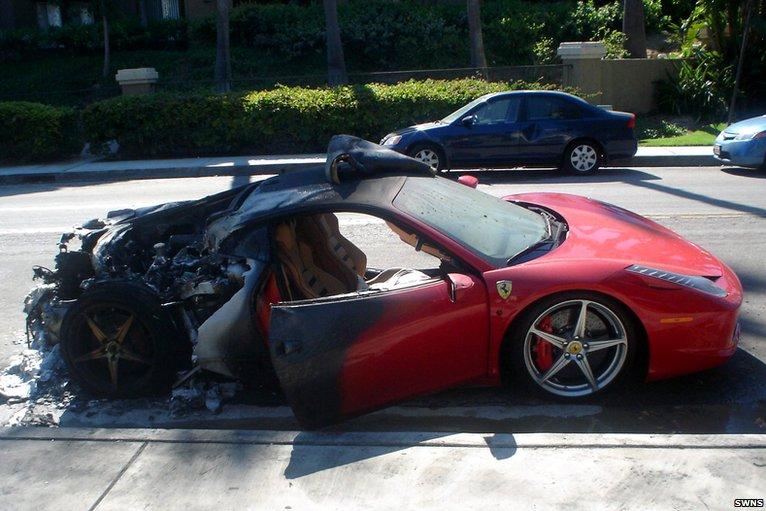 Ferrari 458 Fire