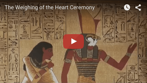 Weighing of the Heart Ceremony
