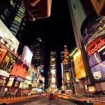 [iPhone] Piratage d'écran à Time Square