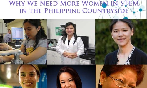 Wanted #PinayGeeks: Why We Need More Women in STEM in the Philippine Countryside