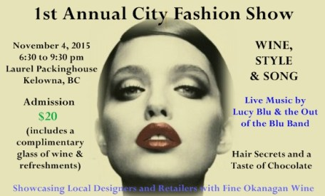 1st Annual City Fashion Show – Wine, Style & Song