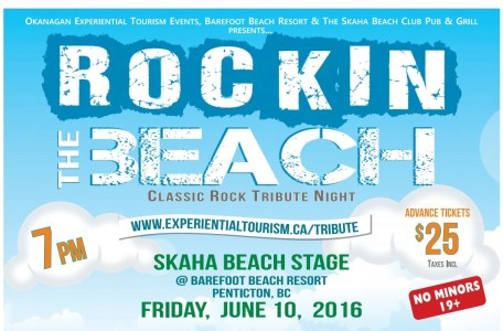"""Rockin the Beach"" – A Classic Rock Tribute"