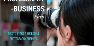 photography business plan and ideas