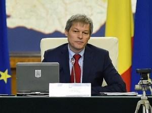 Premierul Dacian Ciolos