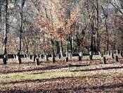 Confederate Cemetery Gravestones