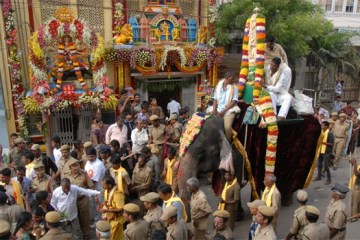 Akkanna Madanna Temple Shaliband Hyderabad Bonalu Festival