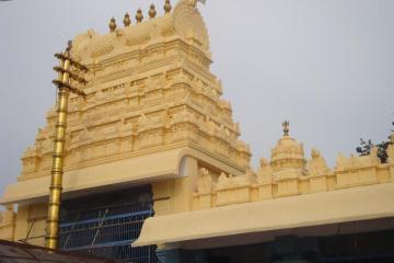 Gopuram at Lakshmi Narasimha Swamy Temple Mattapalli