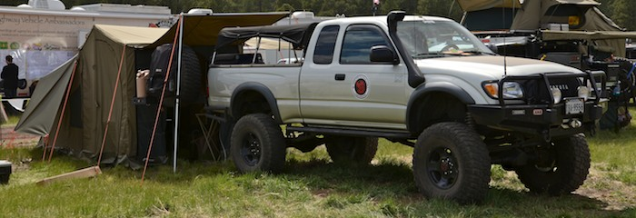 Vehicles of Overland Expo 2013: TOYOTA