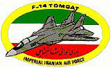 Iranian F-14 Sleeve Patch