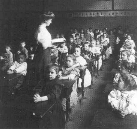 An American Classroom in the year 1900