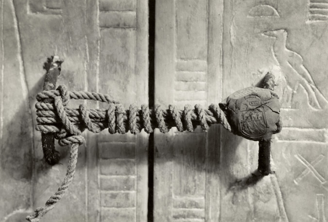 Unbroken Seal on King Tutankhamen's Tomb