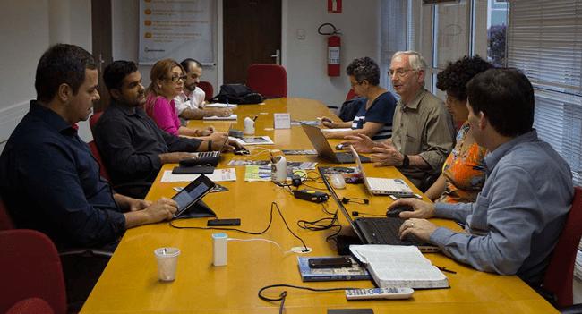 Grupo de Trabalho do 20ºCG acolhe Equipe Nacional de Comunicação