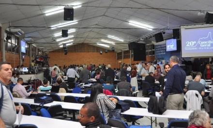 Começa o 20º Concílio Geral da Igreja Metodista
