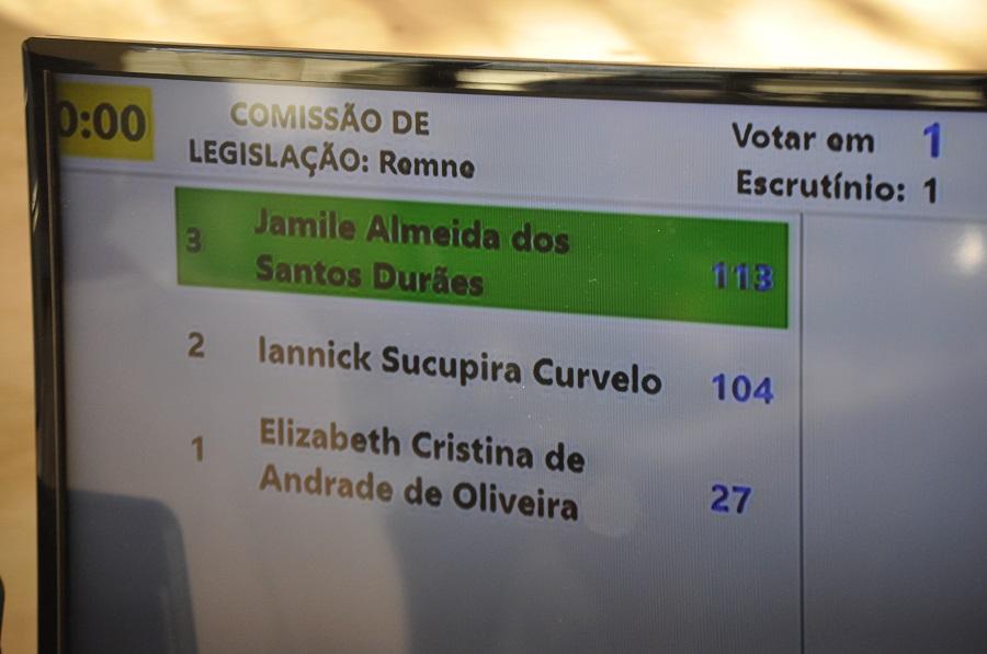 Eleitos os líderes para a Comissão de Legislação e Conselho Fiscal
