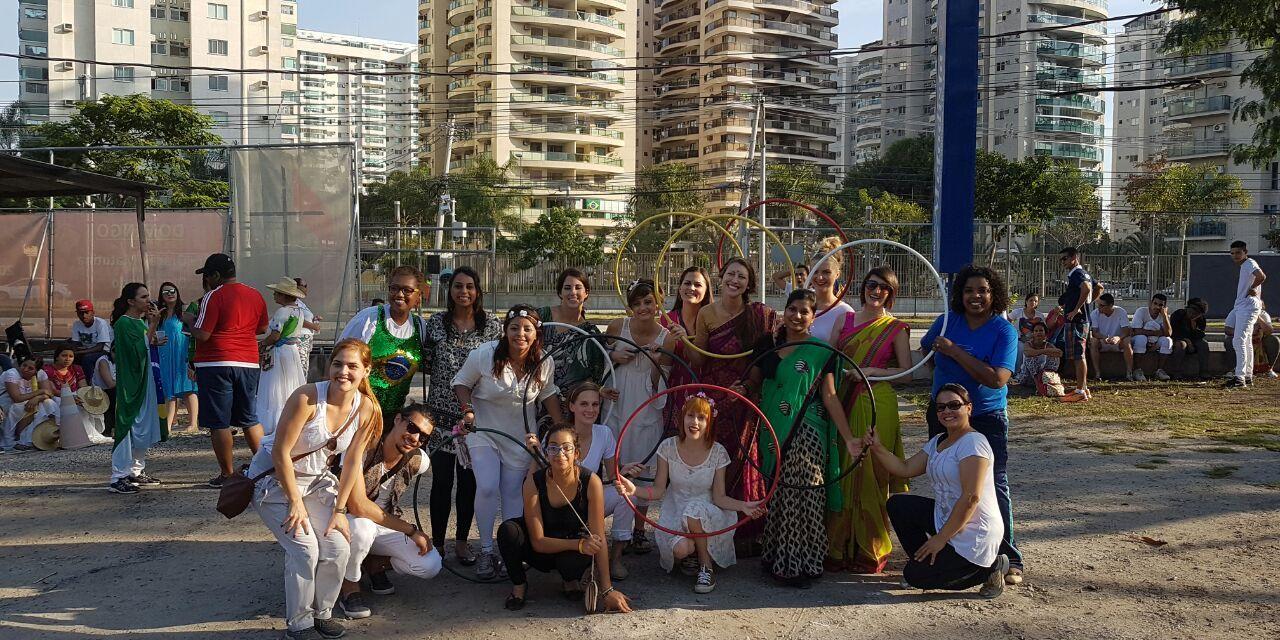 Metodistas apoiam projetos evangelísticos da Jocum no RJ durante as Olimpíadas Rio2016