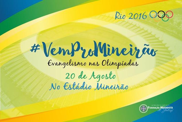 Rio2016: jovens metodistas marcam evangelismo no Mineirão