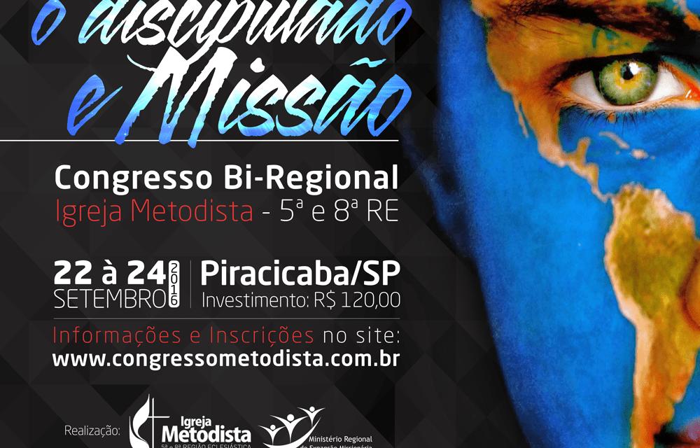 Piracicaba receberá o Congresso Bi-Regional de Discipulado