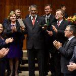 Bispo Luiz Vergílio recebe homenagem