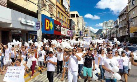 Igreja Metodista realiza Caminhada pela Paz no ES