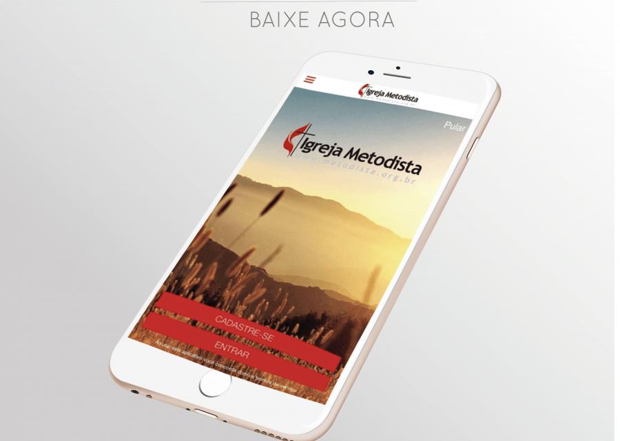 Igreja Metodista reformula aplicativo com chat, mapas e programa de fidelidade