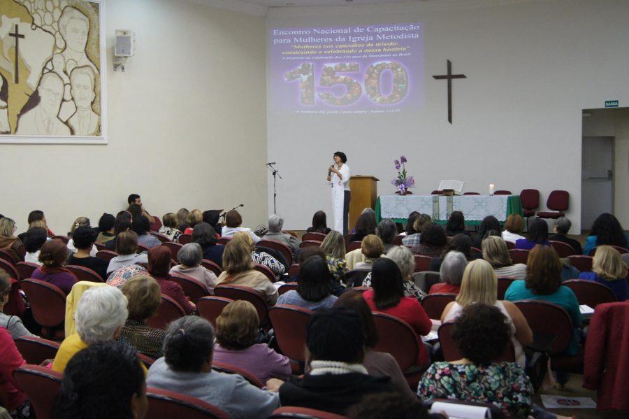 Encontro resgata história de mulheres para celebrar os 150 anos de metodismo no Brasil