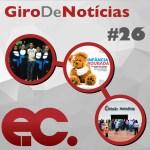 Giro de notícias #026 – Giro Regional 8RE – Turma de Pedagogia Tremembé – EC de junho