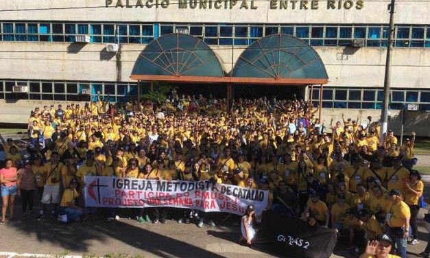 Projeto missionário em Ipameri (GO) reúne mais de 580 voluntários e é tema de reportagem na TV Anhanguera