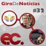 Giro de notícias #032 – Giro Regional 8ª RE – Juname – Oferta de Ação Social