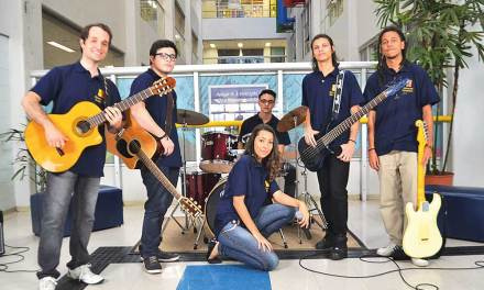 Colégio Metodista forma banda musical