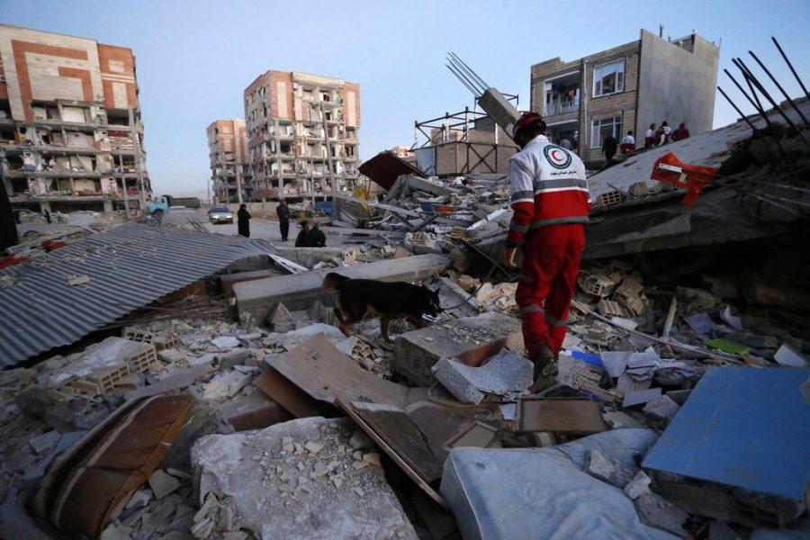 Cidade de Sarpol-e-Zahab, após terremoto - Foto: Pouria Pakizeh/ISNA/AP