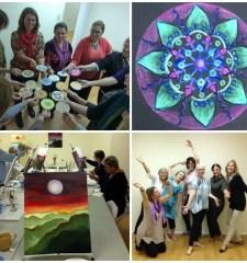 Creative Life Enrichment collage e