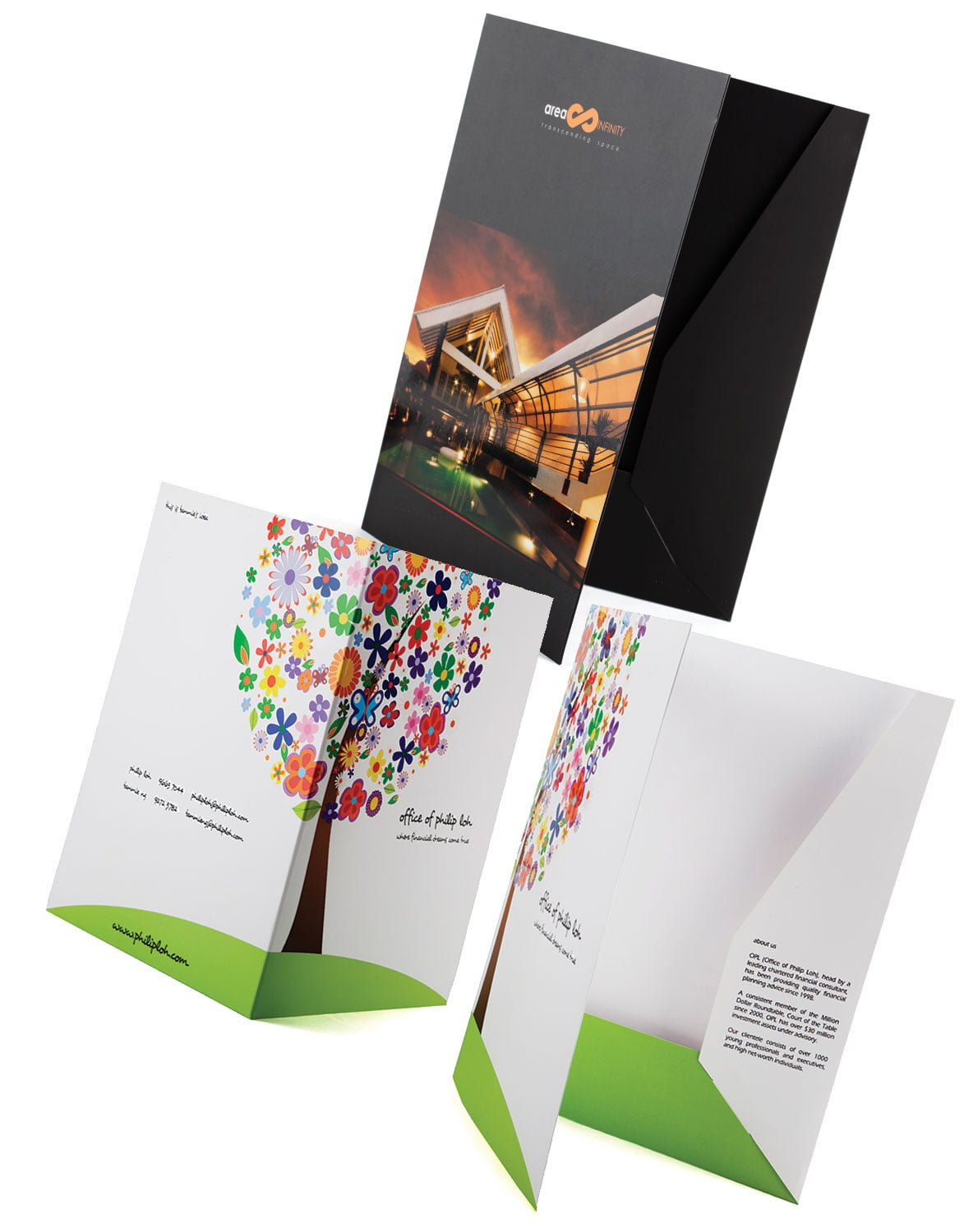 We print quality presentation folder  Corporate Folder Printing     Corporate Folder