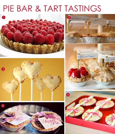 Desserts: Pies and Tarts | Exquisite Weddings