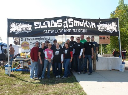 Slabs a' Smokin St. Louis Team Photo
